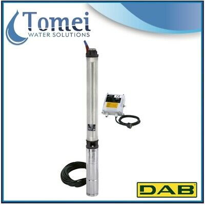 """DAB 4"""" Submersible Pump CS4 A C19-M 1,5KW 1X230V - 30 meters cable electric"""