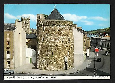 Posted 1966 View of Reginald's Tower, Waterford City, Eire