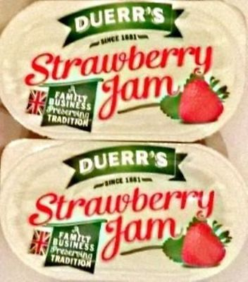 48 Duerr's Strawberry Jam - Individual Portions