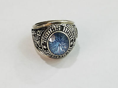 1980 Heritage Highschool - 10k White Gold Class Ring - 2954