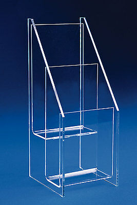Greeting Card Display | Tiered Card Rack for 2, 3 or 4 Cards | Half Sheet Holder