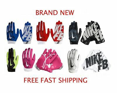 Nike Vapor Jet 3.0 Youth Football Gloves - BRAND NEW & AUTHENTIC - FREE SHIPPING