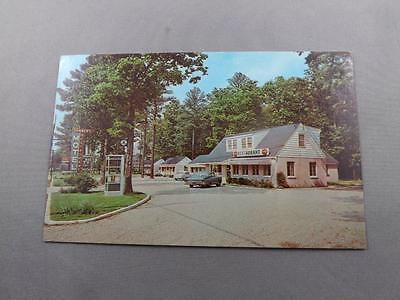 Danners Motel & Restaurant Postcard De Luxe Cottages Colonial Heights Virginia