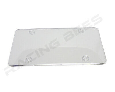 License Plate covers Frame Clear Cover 2pc fit Canada & USA License plate frames