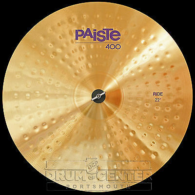 """Paiste 400 22"""" Ride Cymbal - Blowout Special! - CY0000401622"""
