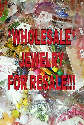 Wholesale Fashion Jewelry Lot of 20 Pcs Brand New Resale/Gifts SHIPS FROM USA!