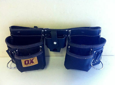 OX Oil tanned Leather Tool Pouch with 36'' belt