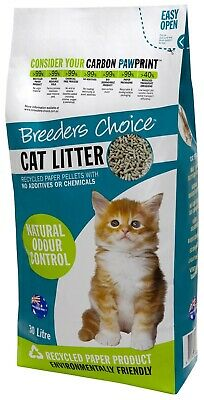 Breeders Choice Cat Litter Pellets - 30 Litres