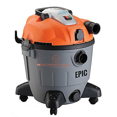 Cleanstar Commercial Plastic EPIC 35L Wet and Dry Vacuum Cleaner