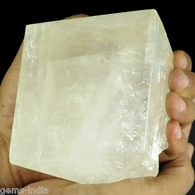 4035 Cts Natural White Calcite Crystal Uncut Polished Rough Rock Specimen