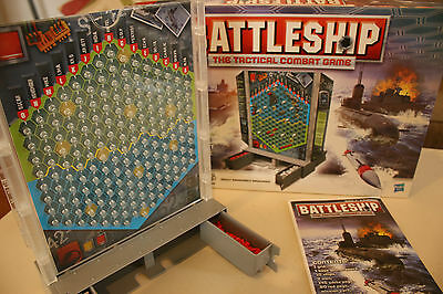 Battleship The Tacticle Commbat Game Hasbro 2008
