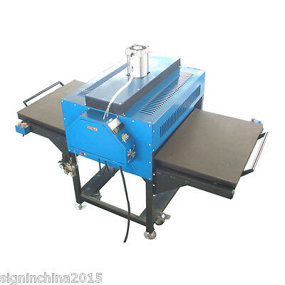 """24""""x31"""" Pneumatic Double-Working Table Large Format Heat Press Machine+Pull-out"""