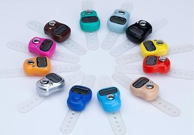 New Mini 5 Digit LCD Electronic Digital Golf Finger Hand Held Tally Counter
