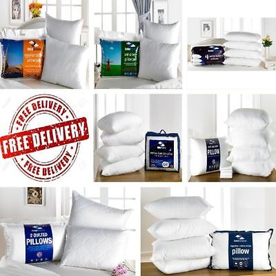 2 / 4 / 6 / 8 / 10 Pack Deluxe Luxury Quality Betterdreams Pillows