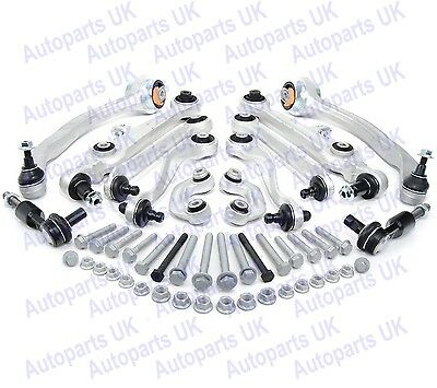 Set of front suspension upper & lower conrtol arms kit for Audi A4, A6