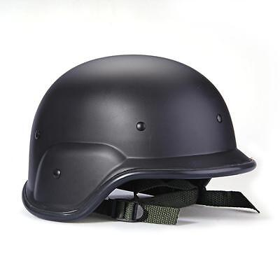 Military FAST Combat Helmet Tactical Gear Airsoft Paintball SWAT Safety Black
