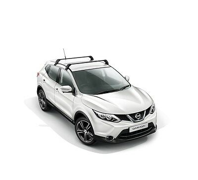 Genuine Nissan Qashqai 2014-2016 Aluminium Roof Rack Bars KE7304E510