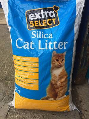 Silica Crystal Cat Litter Natural Ultra Absorbent Antibacterial & Dust Free 15kg