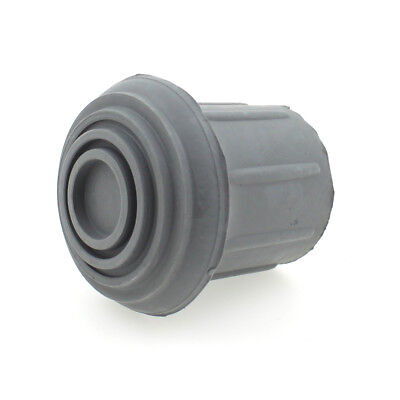 Domed Grey Rubber Ferrules End Caps Stoppers For Ironing Boards & Step Ladders