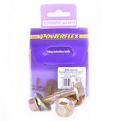 POWERFLEX PowerAlign Camber Adjust Bolt Kit (12mm) PFA100-12 (Audi/Fiat/Ford...)