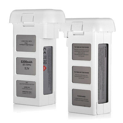 For DJI Phantom 2 Intelligent Flight LiPo Battery 5200mAh 11.1V