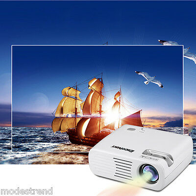 3000 Lumens LCD/LED Projector 1080P Home Cinema Theater HDMI VGA DVD PC Laptop