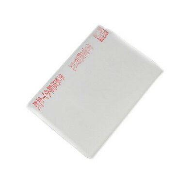 100 Sheets Blank Chinese Calligraphy Rice Papers 13''*27'', Raw