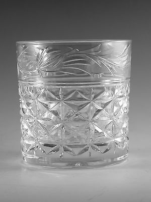 "STUART Crystal - MANSFIELD Cut - Tumbler Glass / Glasses - 3 1/4"" (1st)"