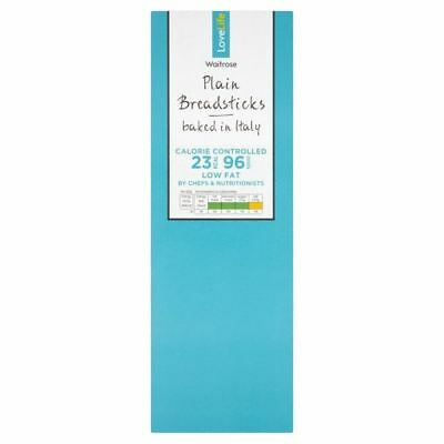 You Count Plain Breadsticks Grissini Waitrose Love Life 125g • AUD 4.75