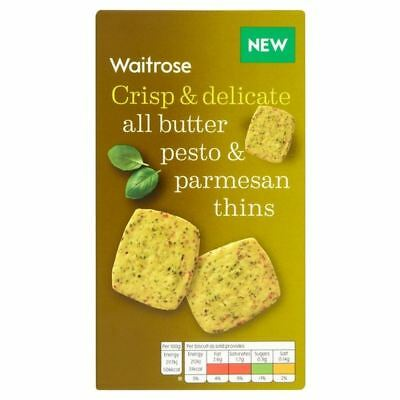 Pesto & Parmesan Thins Waitrose 95g • AUD 8.50