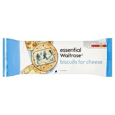 Biscuits For Cheese essential Waitrose 150g