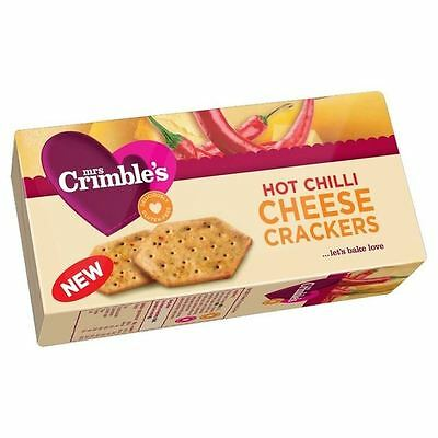 Mrs Crimbles Hot Chilli Cheese Crackers 130g