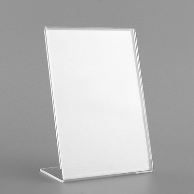 Acrylic Plastic Counter Menu Holder Perspex Leaflet Display Stands A6 COLLEGE