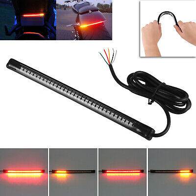 Motorcycle Bike 32 LED Feux arrière freinage Turn Signal Indicadores Tail Light