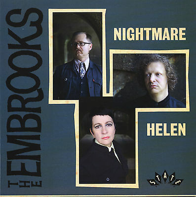 "THE EMBROOKS Nightmare / Helen limited vinyl 7"" NEW garage freakbeat Mod psych"