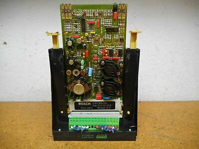 Bosch 0811405014 Amplifier Card With Murr Electric 63010 250V 5A Holder Used