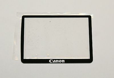 Canon EOS-550D Main LCD Display Screen External Glass Cover Replacement Part NEW