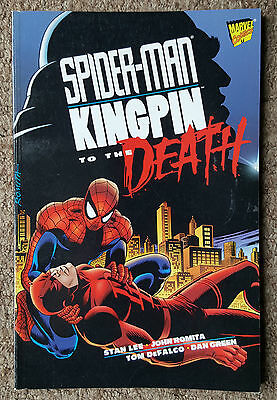Spider-man Kingpin To The Death TPB Graphic Novel Marvel Comics