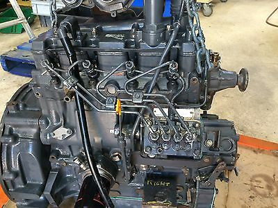 Shibaura N844LT (Turbo) Fully Reconditioned Exchange Engine