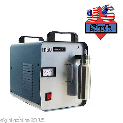 H160 75L110V Portable Oxygen Hydrogen Flame Generator Acrylic Polishing Machine