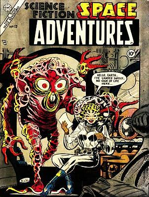 Space Sci-fi 130+Comics on DVD.Space Adventures.Outer Space.Capt.Valiant.on DVD