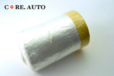 2pc Car Auto Vehicle Protective Paint Spray Masking Film Cover Sheet Drop Roll