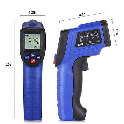 Non Contact Digital Temperature Gun Laser Infrared IR Thermometer Temp Meter