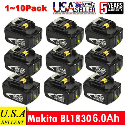 LP-E6 Battery + LCD Dual Charger for Canon EOS 6D 60D 7D 70D 80D 5D Mark II III