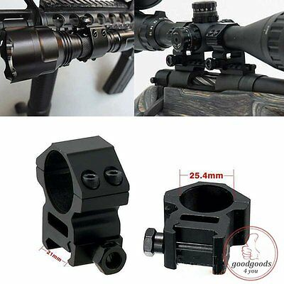 20mm Tactical Flashlight Laser Torch Scope Barrel Mount Clamp for Surefire In