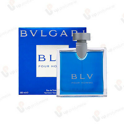 Bulgari Blu Blv Pour Homme Edt 100Ml Profumo Uomo Natural Spray
