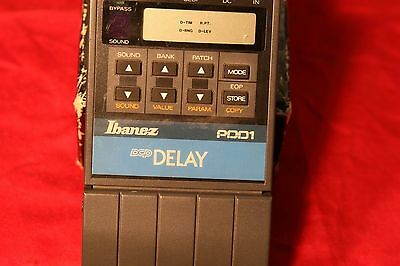 Vintage Ibanez PDD1 Analog Delay Pedal with Digital Controls