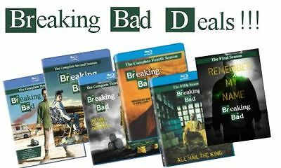Breaking Bad Temporadas Sueltas  1-2-3-4-5-6 En Bluray