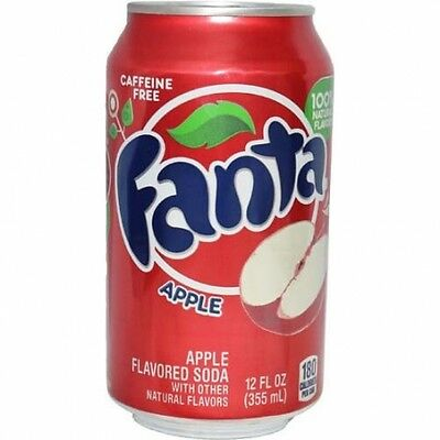 Fanta Manzana / Apple (Pack 12 Botes X 355 Ml)