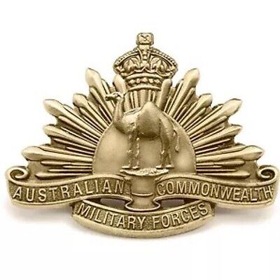 Great War Camel Corps Badge * New ANZAC Day 2016